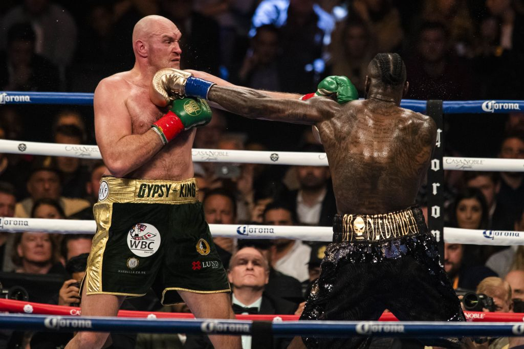 Tyson Fury's promoter Frank Warren reveals possible date for Deontay Wilder rematch