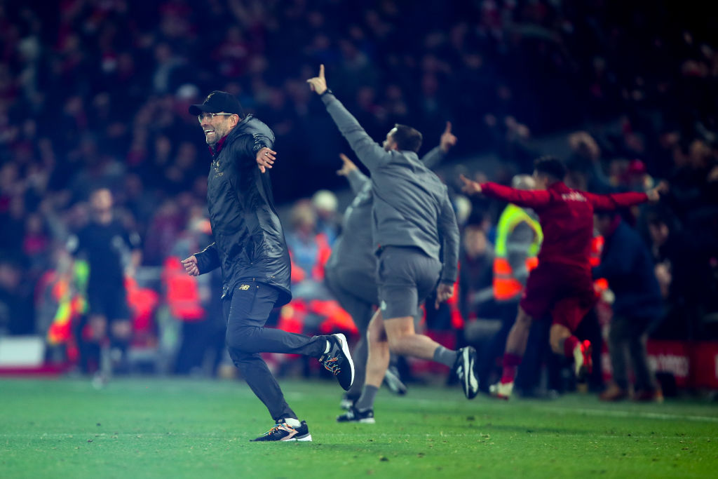 Liverpool manager Jurgen Klopp charged by FA for Everton goal celebration