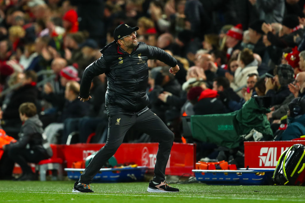 Pep Guardiola responds to Jurgen Klopp's wild celebrations against Everton