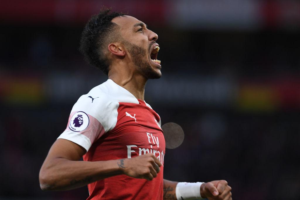 Alan Shearer jokes Pierre-Emerick Aubameyang is the best Arsenal striker in history after Tottenham win