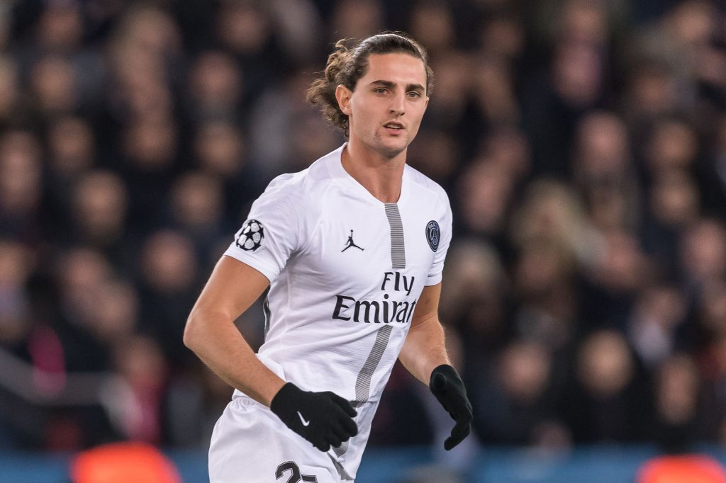 Liverpool 'in contact' with Paris Saint-Germain over Adrien Rabiot transfer
