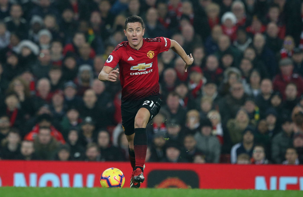 Ander Herrera set to sign new Manchester United deal