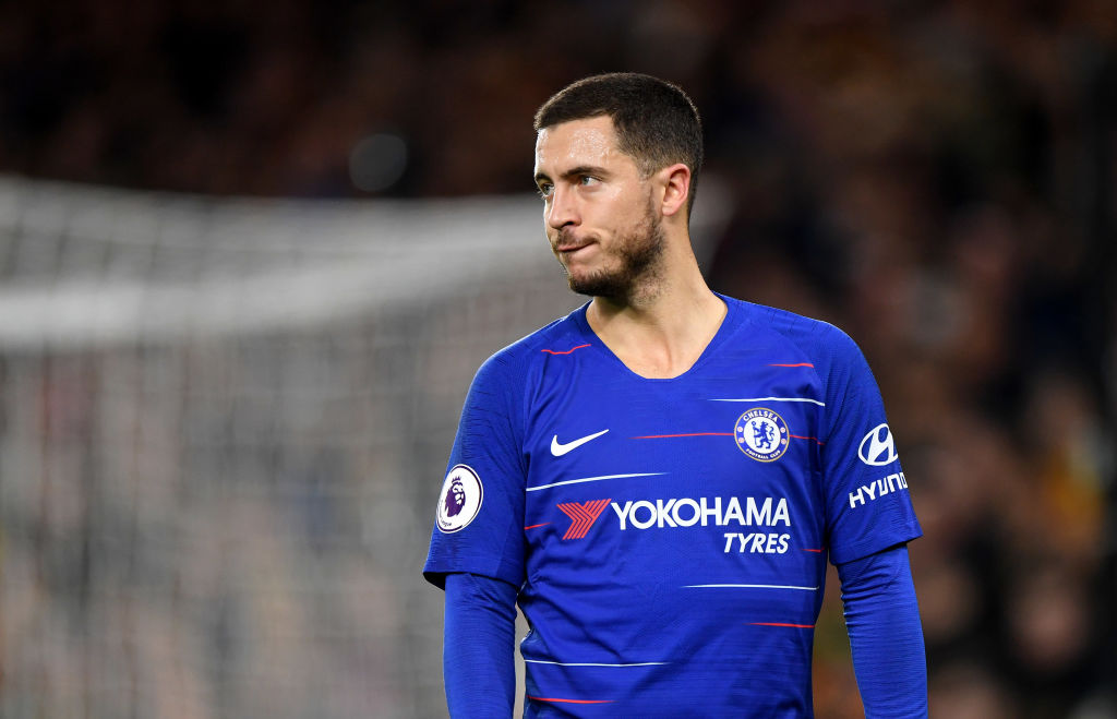 Eden Hazard sends cryptic transfer message to Manchester City over his future