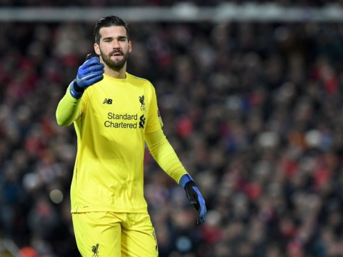 Jamie Carragher reveals what Jurgen Klopp said about Alisson after astonishing save against Napoli