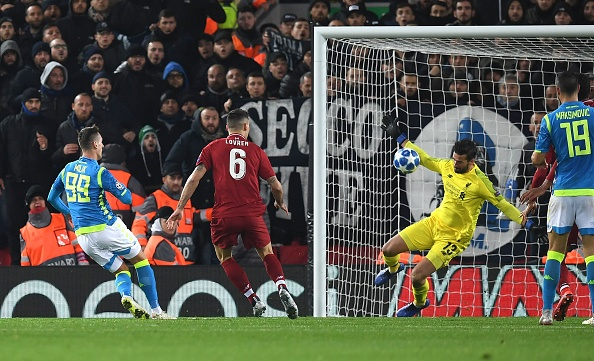 Arkadiusz Milik apologises after he's denied by stunning Alisson save in injury time