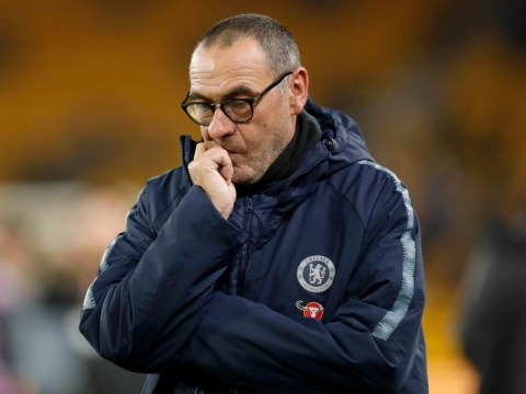 Maurizio Sarri wants better game management from Chelsea players ahead of Man City test