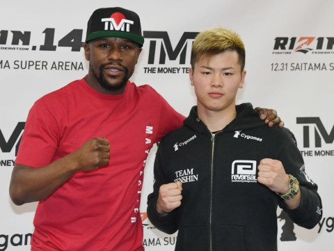 When is Floyd Mayweather vs Tenshin Nasukawa and how to watch Rizin 14 in the UK?