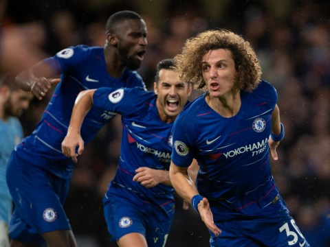 David Luiz tells Manchester City and Liverpool that Chelsea are in the title race