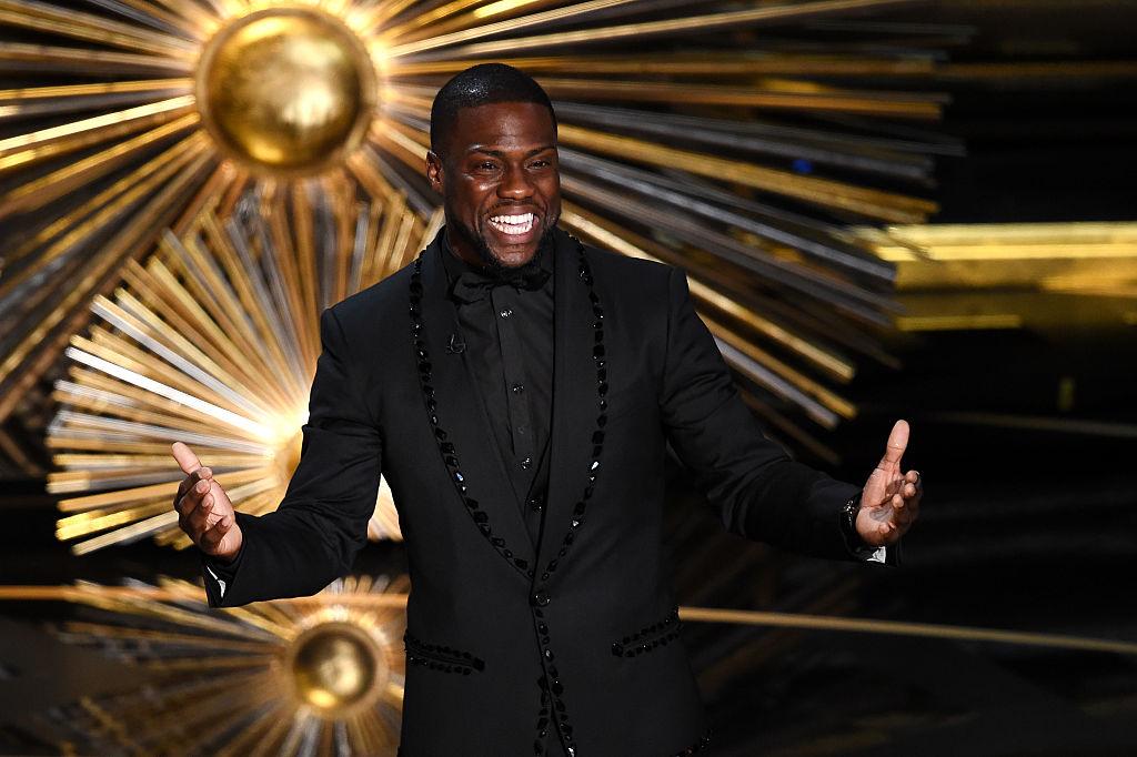 Kevin Hart at the 2016 Oscars