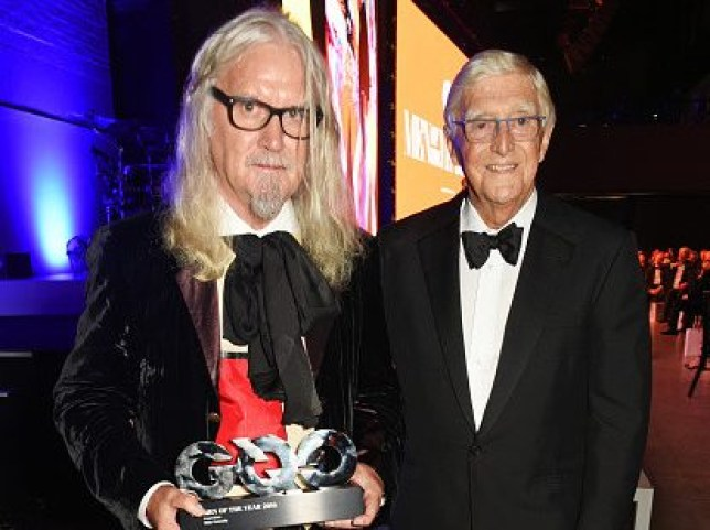 Billy Connolly with Michael Parkinson