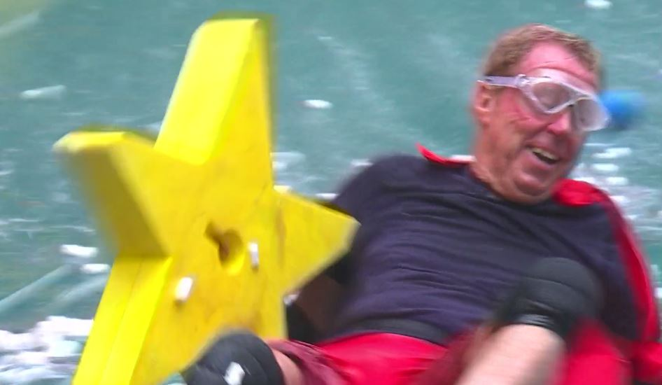 I'm a Celebrity: Harry Redknapp tries to halt Celebrity Cyclone trial – because he needs a wee