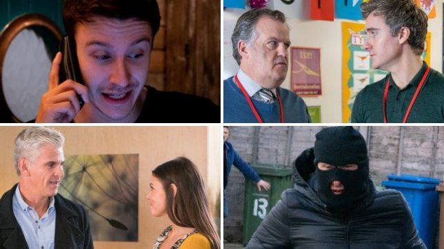 Coronation Street spoilers for Ryan, Brian, Michelle, Kate and Kirk