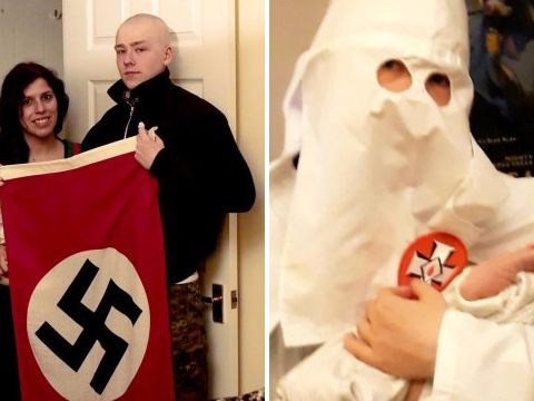 Couple who named baby 'Adolf' jailed for being part of neo-Nazi terror group