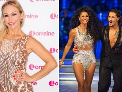 Ex-Strictly pro Kristina Rihanoff throws shade at newbie Graziano and blames him for Vick Hope's failure