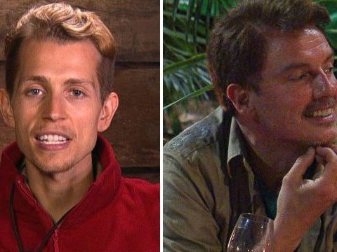 I'm A Celebrity's James McVey shows catty side as he calls out 'show off' John Barrowman
