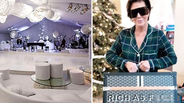Kris Jenner's Christmas Eve party 'cost $500k' as 'greedy, repulsive' family is slammed by Piers Morgan