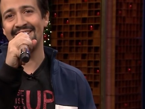 Lin Manuel Miranda is the gift that keeps giving with a special Christmas parody