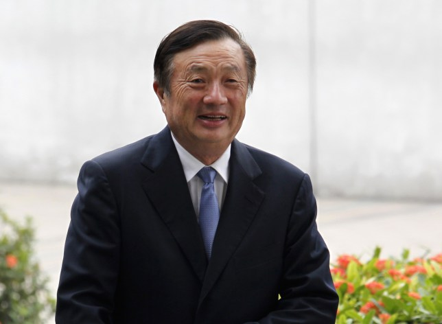 Ren Zhengfei, the founder and CEO of Huawei (Reuters)