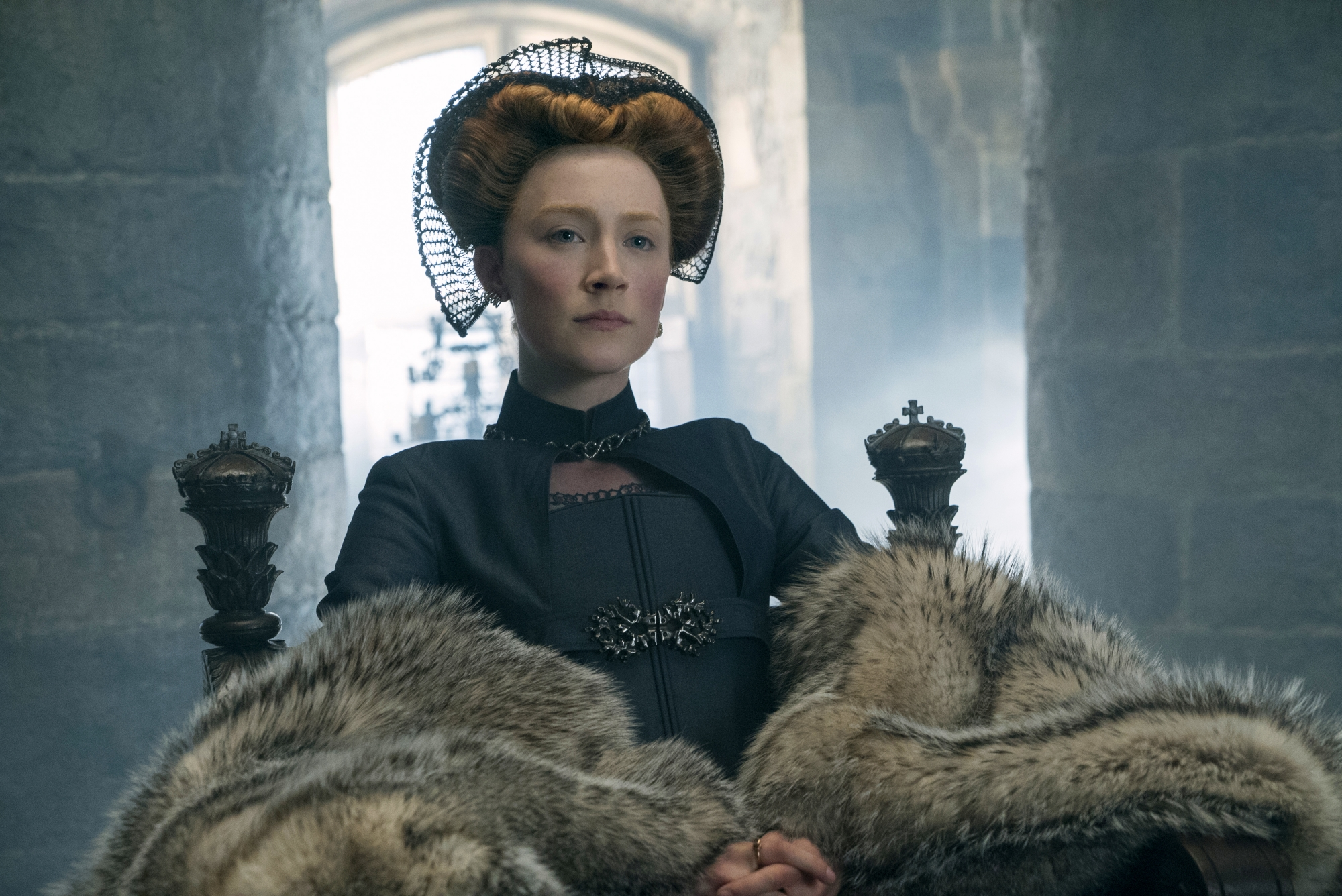 'For an authentic female orgasm, we need to see her face': Mary Queen Of Scots director says focus nothing to do with rating