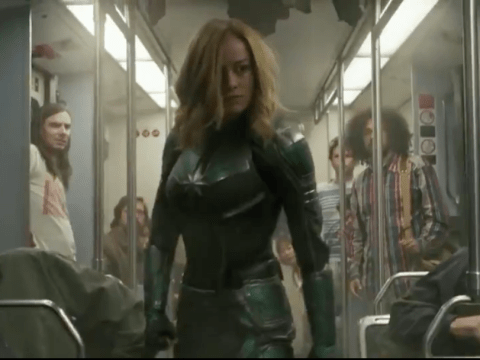 Brie Larson prepares us for the strongest hero yet as she kicks butt in new Captain Marvel trailer