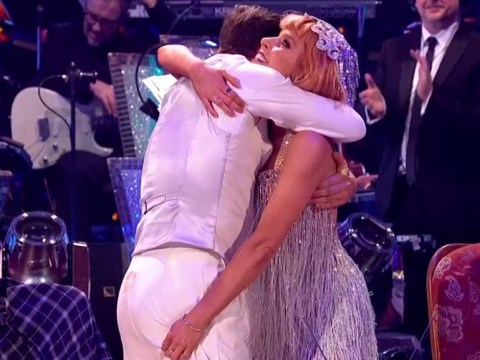 Strictly's Stacey Dooley caught pinching Kevin Clifton's bum after fun-loving Charleston