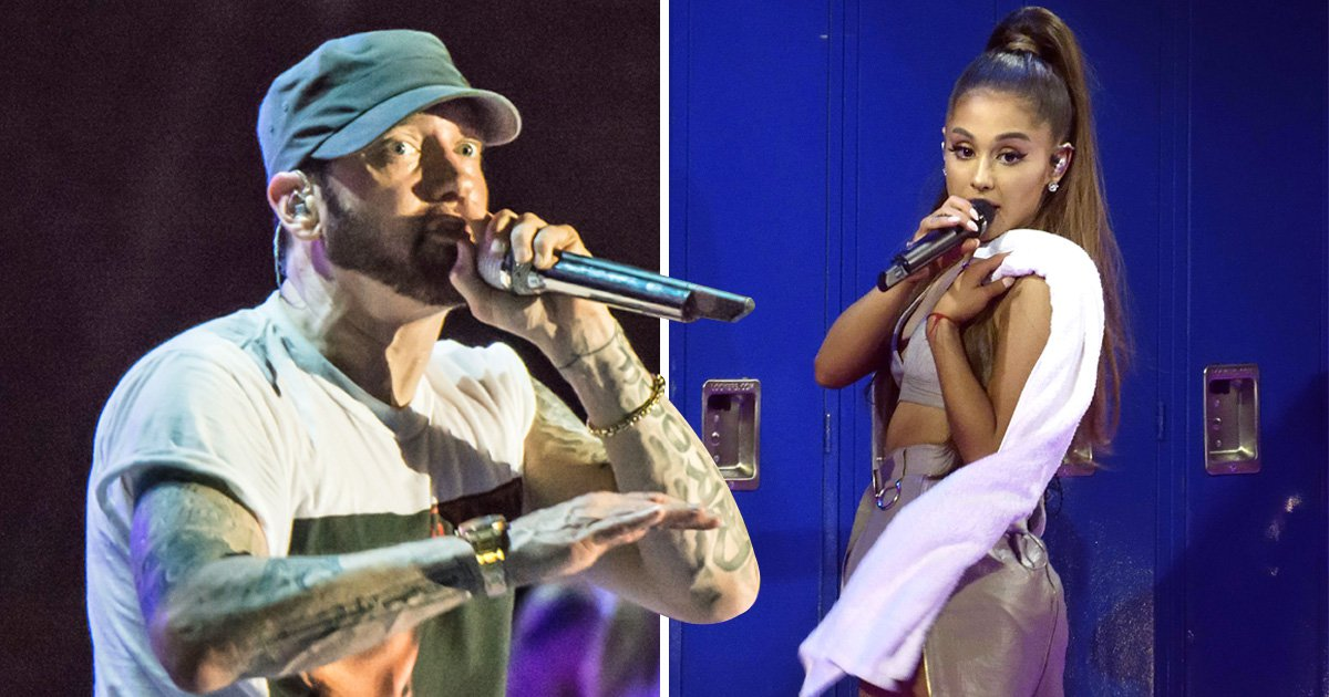 Eminem references Ariana Grande and Manchester Arena attack in rap