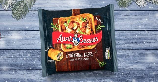Aunt Bessie's Yorkshire pudding wraps