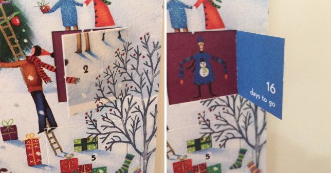 John Lewis can't count on their advent calendar