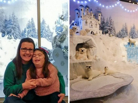 Mother creates DIY Lapland after daughter was too ill to see the real thing