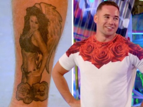Kieran Hayler covers up huge Katie Price underwear tattoo dedicated – with a ship