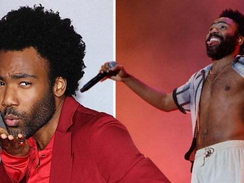 Donald Glover is GQ's best dressed man of the year despite not wearing a shirt for much of it