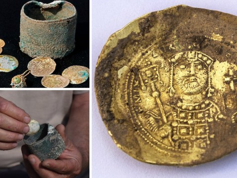 Gold coins discovered in Israel thought to be 900-year-old treasure from the Crusades