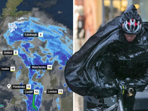Storm Etienne set to batter UK with torrential rain and 80mph winds