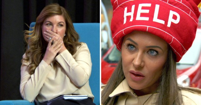 Karren Brady and Sarah Ann