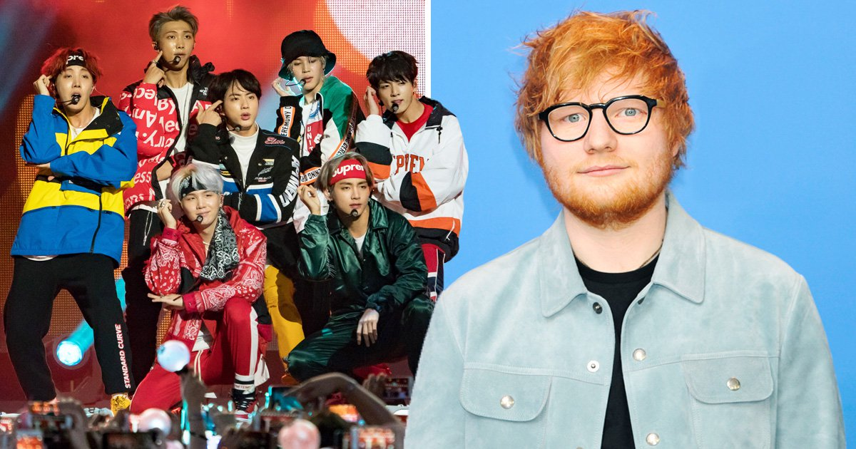 BTS Ed Sheeran collab Make It Right confirmed on Map Of The Soul: Persona