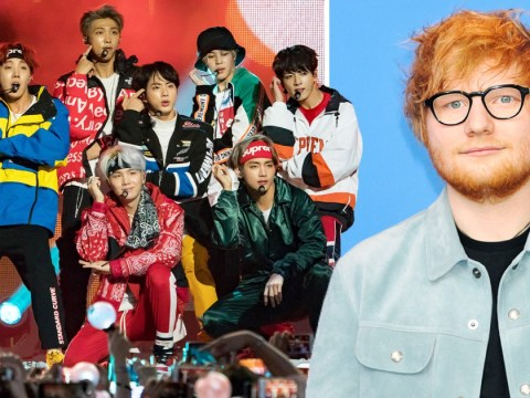 BTS casually reveal Ed Sheeran collaboration is on Map Of The Soul: Persona