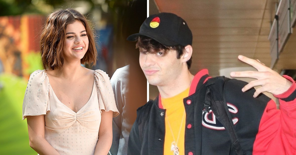 Noah Centineo looks happy as Larry after flirting with Selena Gomez breaks hearts everywhere