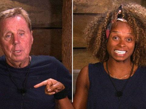 I'm A Celebrity's Harry Redknapp flustered as Fleur East cracks joke about his sex life with wife Sandra