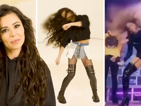 Cheryl teaches Beyonce's Mi Gente move but fans crack up over mispronunciation
