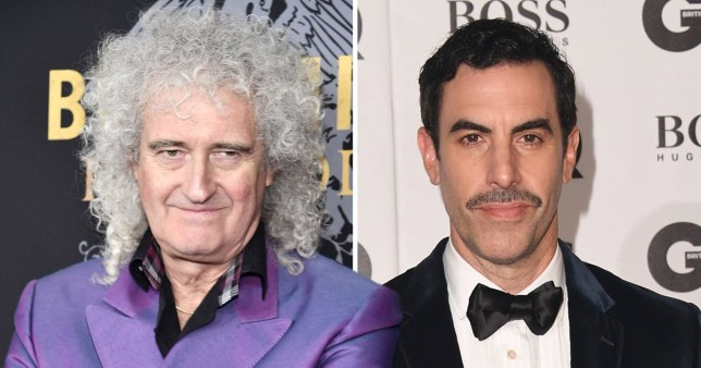 4d733dce95c55 Brian May says Bohemian Rhapsody would be  a disaster  if Sacha Baron Cohen  played Freddie Mercury