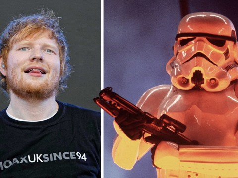 Ed Sheeran bags role in next Star Wars movie but you probably won't recognise him