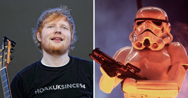 Ed Sheeran's gonna be in Star Wars