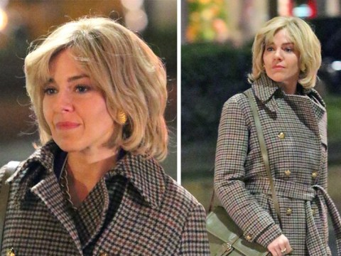 Sienna Miller gains 20 years as she takes on new role of Roger Ailes' wife in The Loudest Voice In The Room