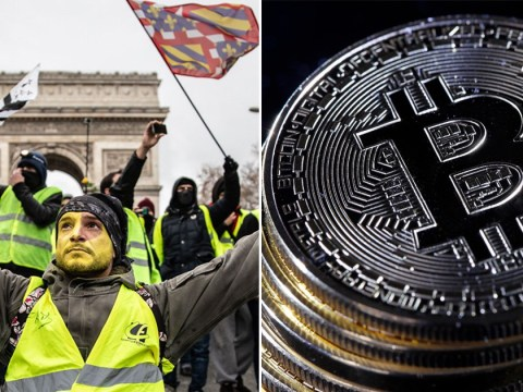 French protesters could 'use Bitcoin to bring down the banks and government'