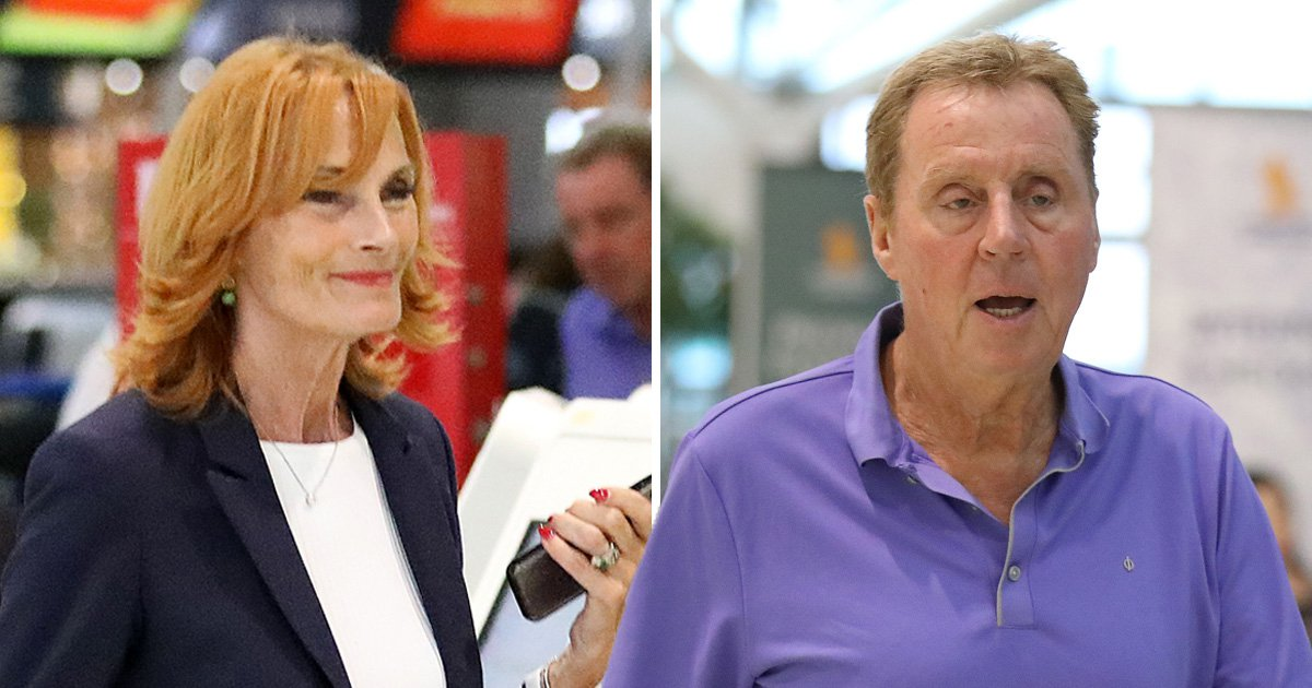 Harry Redknapp leads the pack with wife Sandra as I'm A Celebrity stars begin journey home