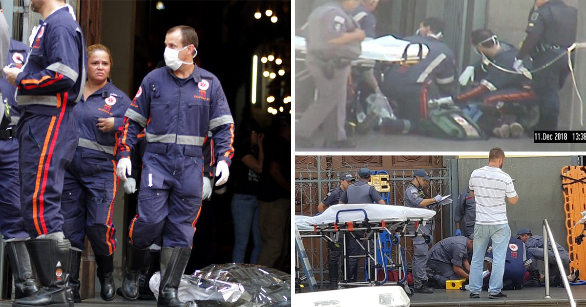 Five dead as gunman opens fire in cathedral