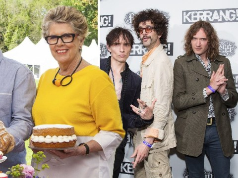 The Darkness to perform on Great British Bake Off Christmas special – returning contestants revealed