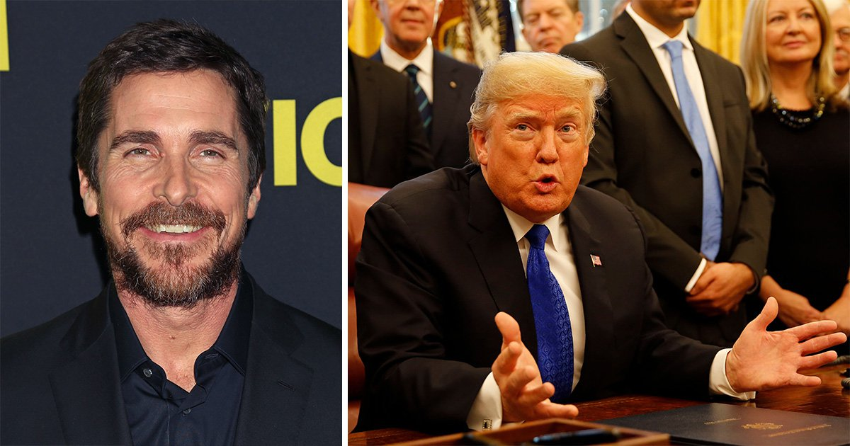 Christian Bale thinks Donald Trump believed he was actually Bruce Wayne