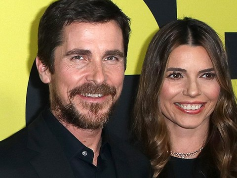 Christian Bale gets chummy with Vice co-stars as actors grace premiere with their presence