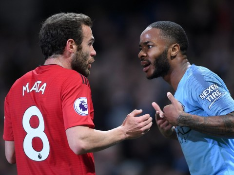 Raheem Sterling reveals what Juan Mata told him during Manchester United's defeat to Manchester City